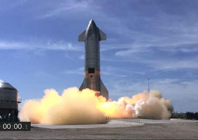 Le prototype Starship de SpaceX