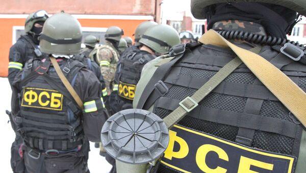 Des agents du Service fédéral de sécurité de Russie à Kaliningrad / image d'illustration - Sputnik France