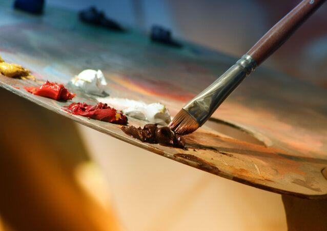 Peinture (image d'illustration)