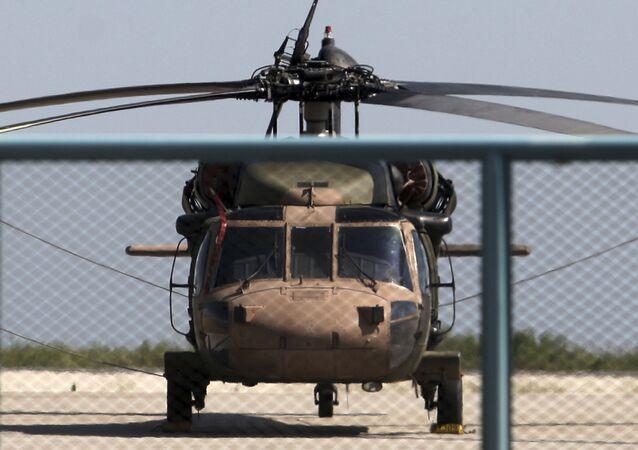 un hélicoptère militaire turc (image d'illustration)