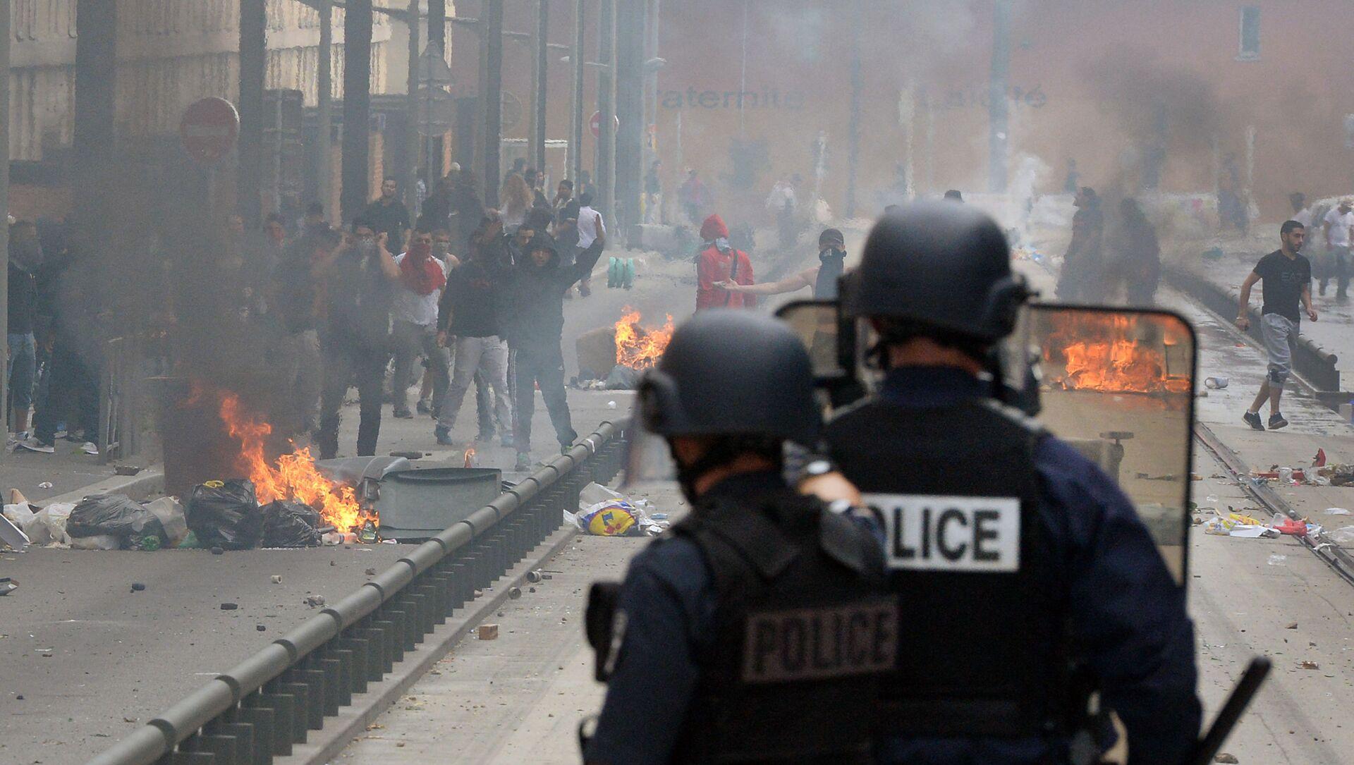 Émeutes à Sarcelles dans des manifestations pro-palestiniennes, juillet 2014 - Sputnik France, 1920, 05.03.2021