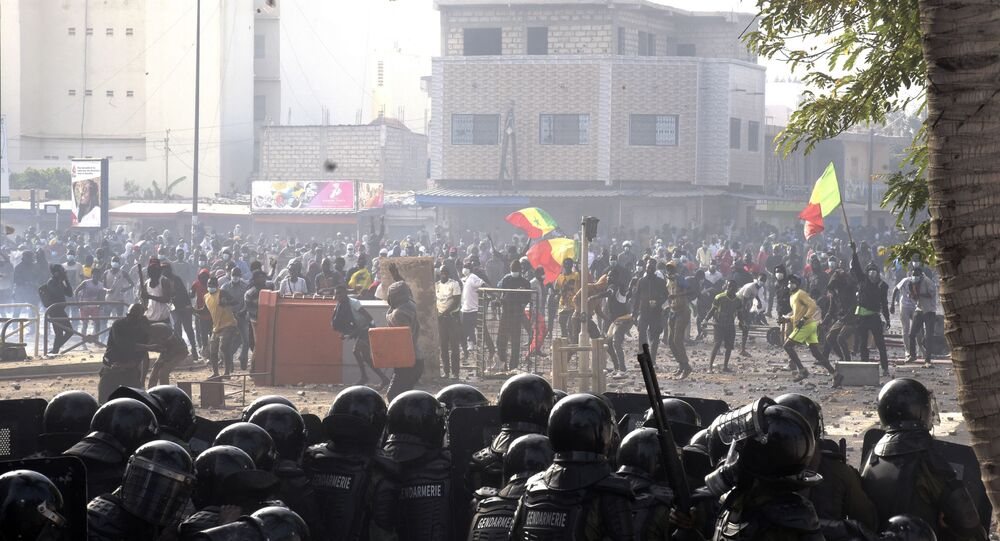 manifestations au Sénégal