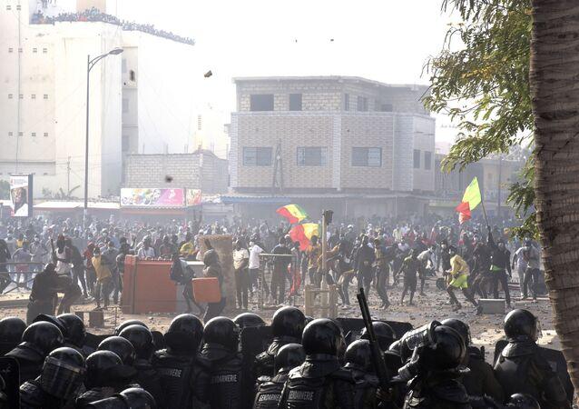 manifestations au Sénégal