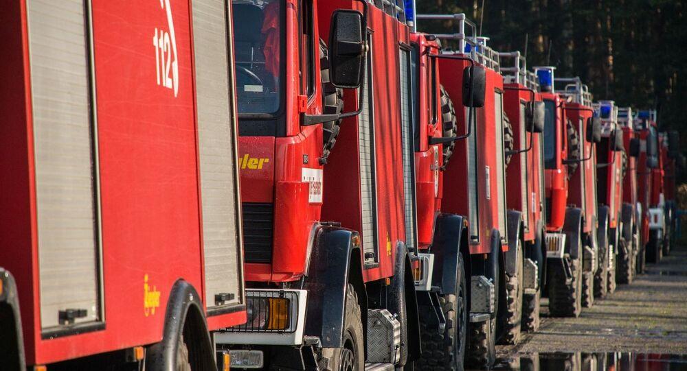 Sapeurs pompiers (image d'illustration)