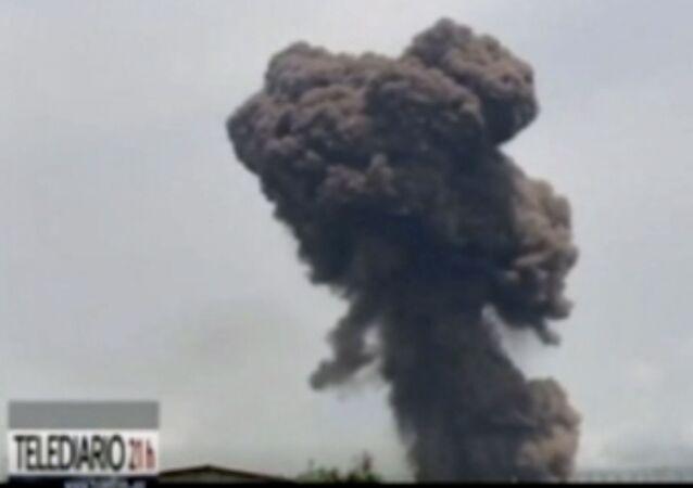 Explosion à Bata, le 7 mars 2021