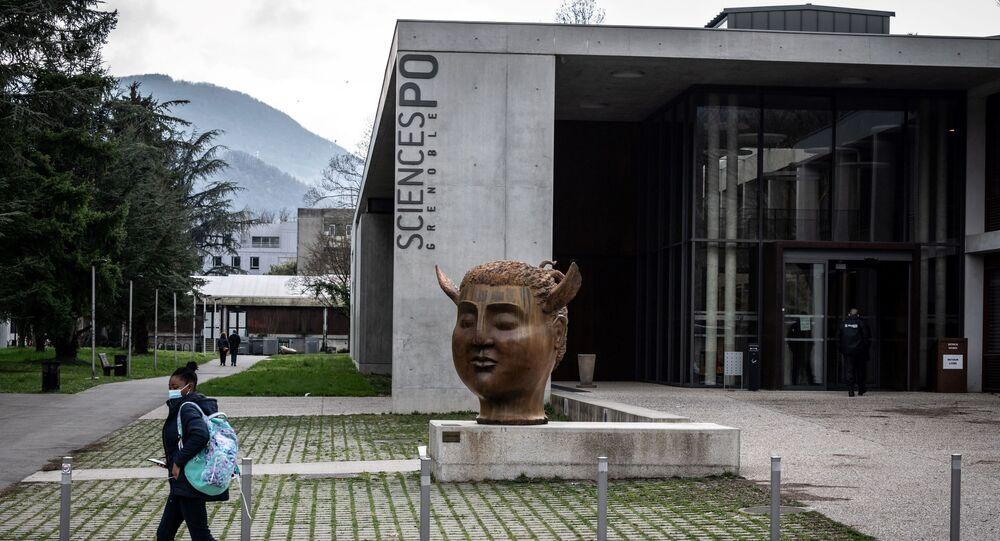 Le campus de l'IEP de Grenoble, à Saint-Martin-d'Heres