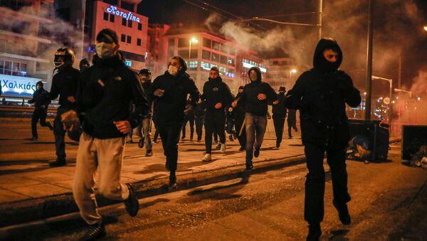 Troubles dans la capitale grecque   - Sputnik France