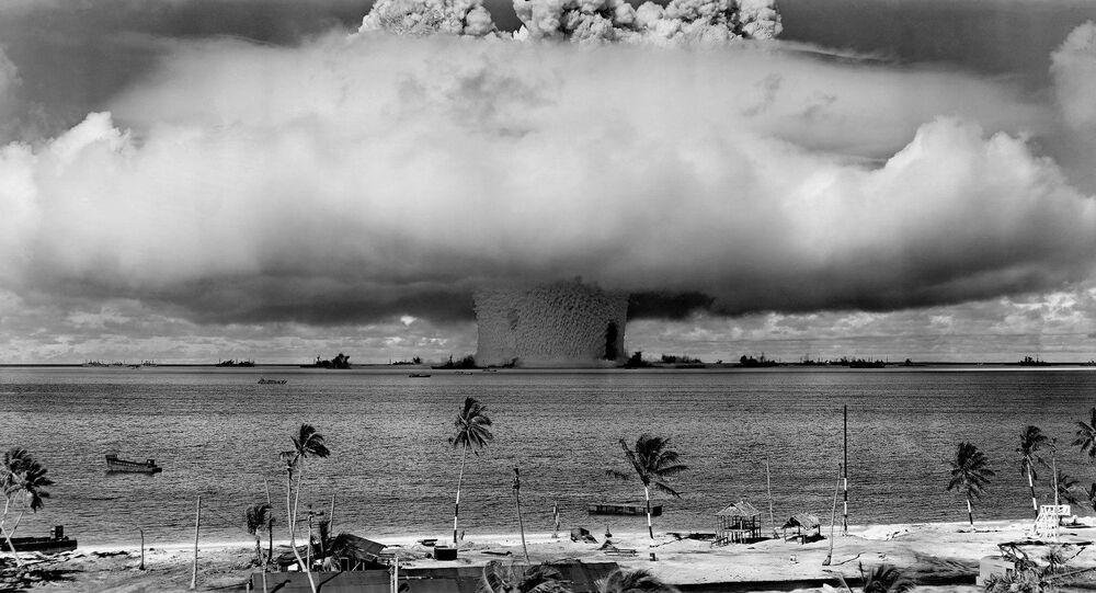 Une explosion nucléaire (image d'illustration)