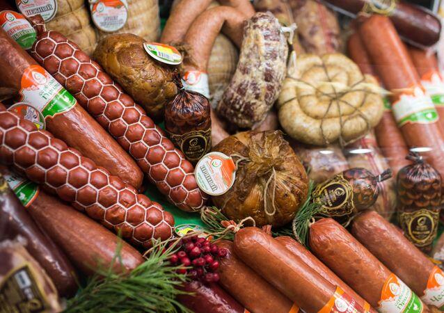 Saucisses et saucissons, image d'illustration