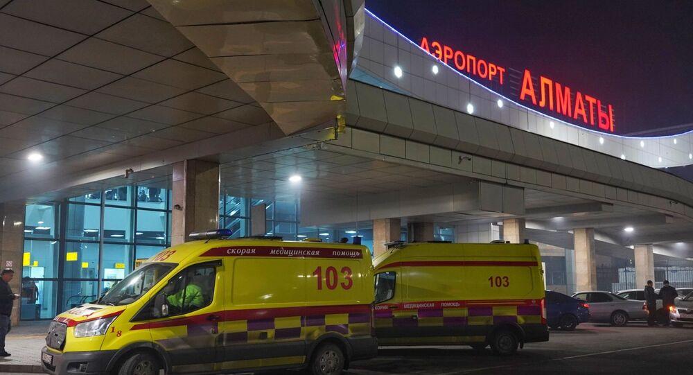 L'aéroport d'Almaty (photo d'archives)