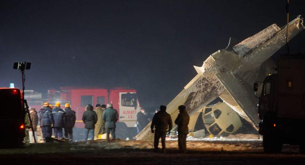 Crash d'An-26 au Kazakhstan