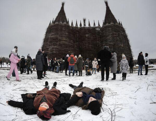 Maslenitsa, le grand carnaval orthodoxe, en Russie  - Sputnik France