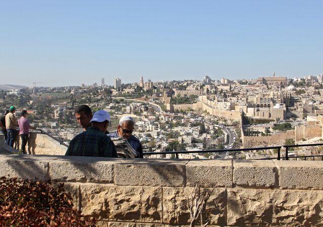 Vue sur Jérusalem