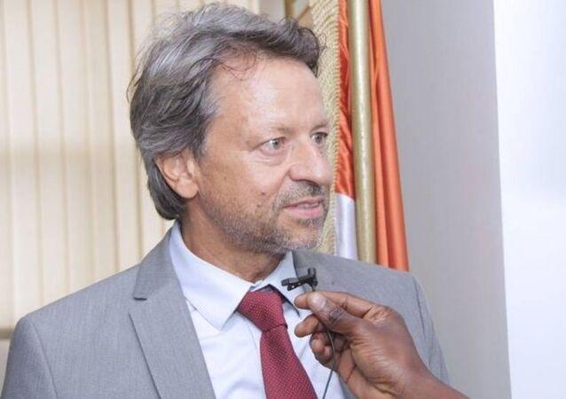Jobst Von Kirchmann, ambassadeur de l'Union européenne en Côte d'Ivoire