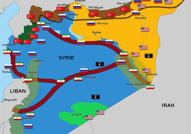 Syrie : un territoire fragmenté par de nombreuses puissances