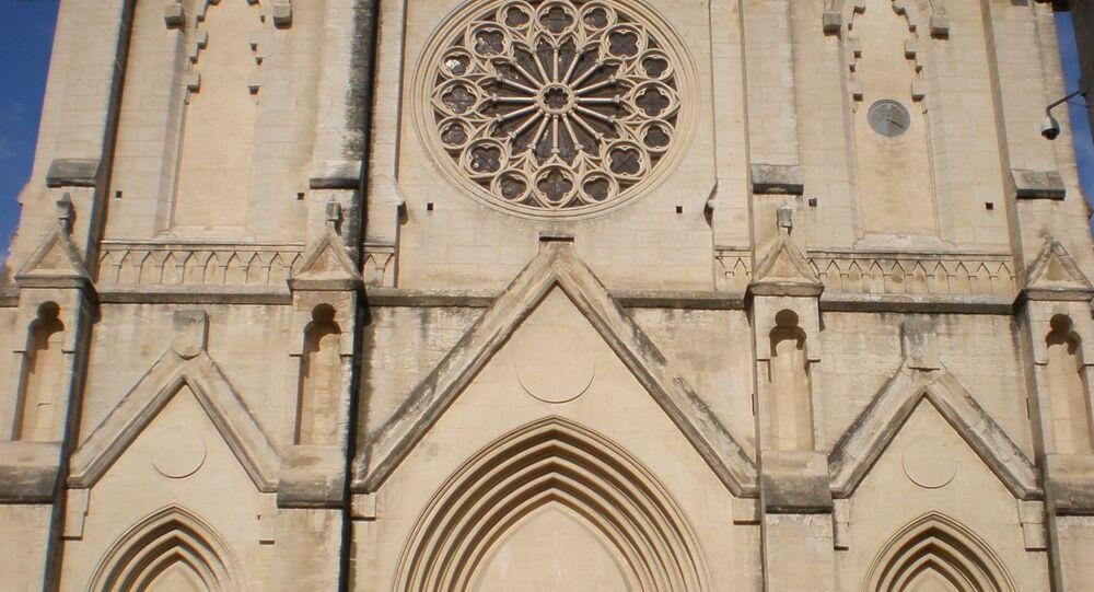 Église Saint-Roch à Montpellier (France)