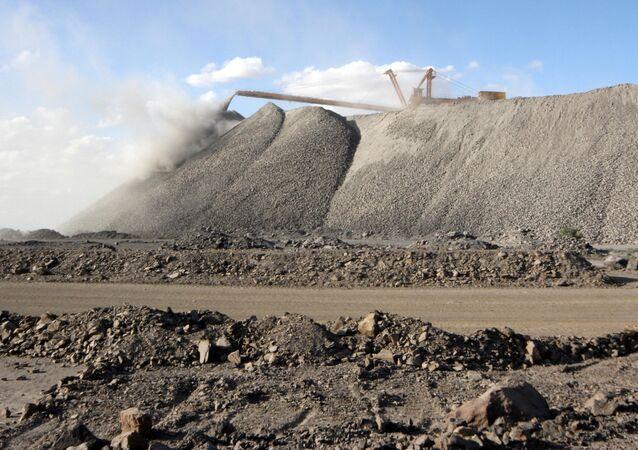 Extraction de terres rares en Chine