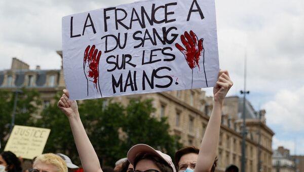 Rassemblement contre le racisme et les violences policières  - Sputnik France