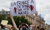Rassemblement contre le racisme et les violences policières à Paris, 13 juin 2020