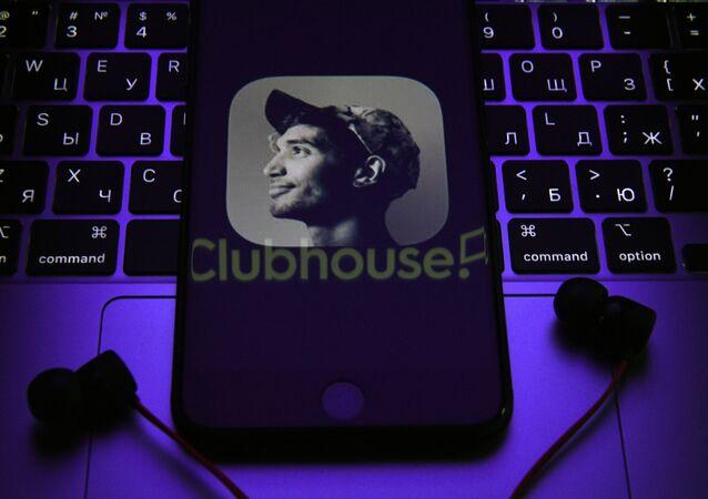 Application Clubhouse sur le smartphone