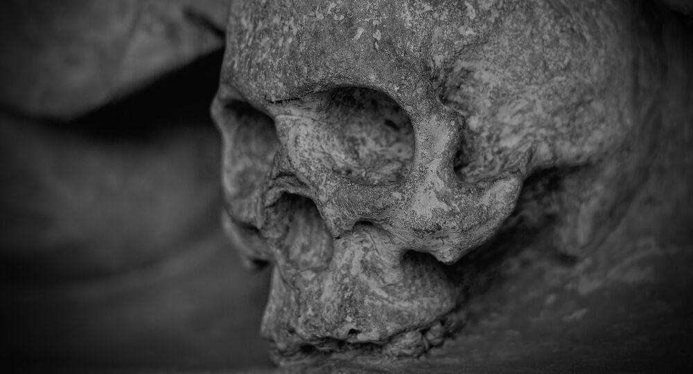 Une squelette
