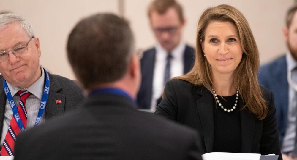 Caroline Mulroney assistant à la conférence ROMA à l'écoute des citoyens de l'Ontario