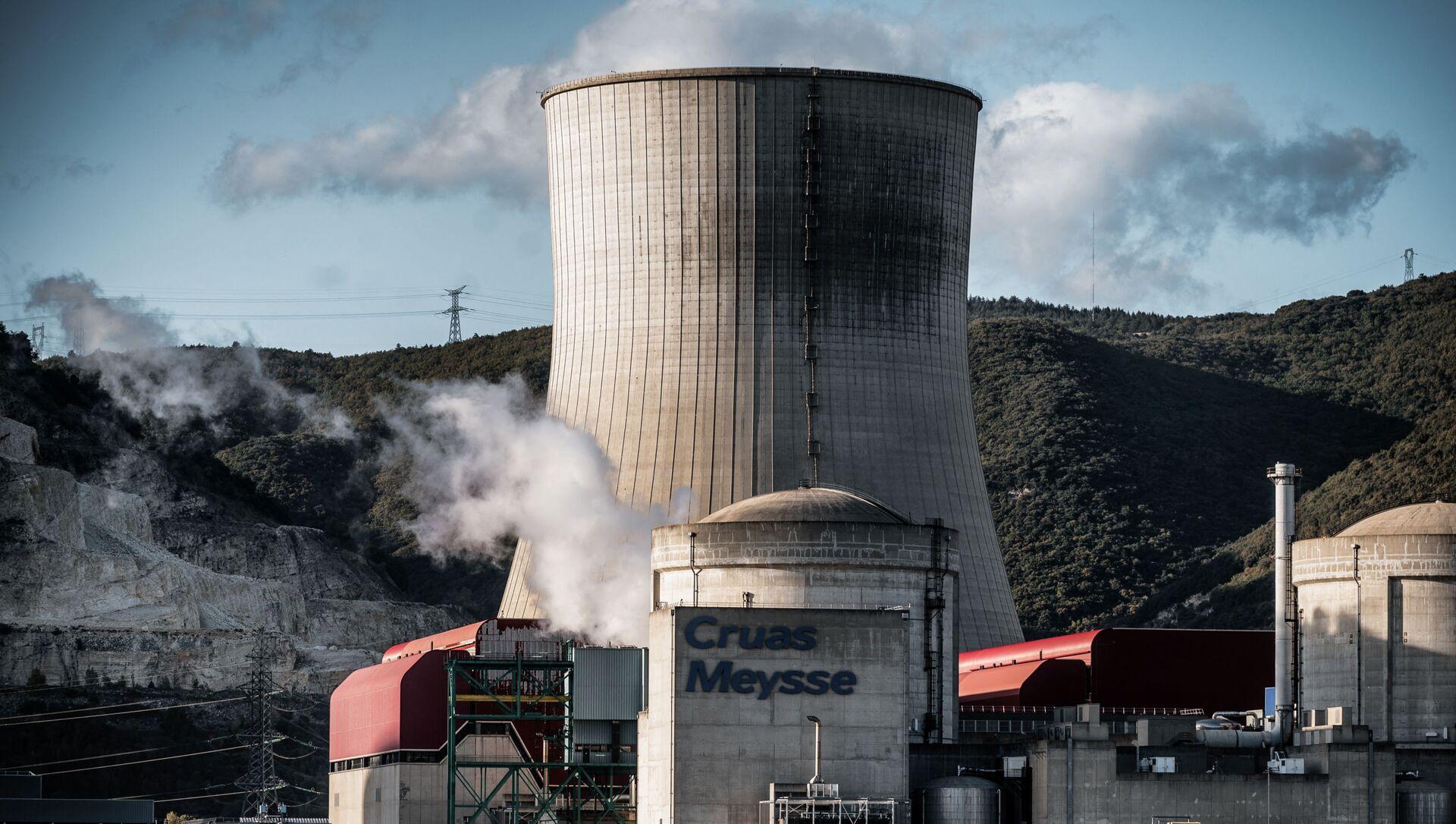 Centrale nucléaire de Cruas-Meysse  - Sputnik France, 1920, 11.09.2021