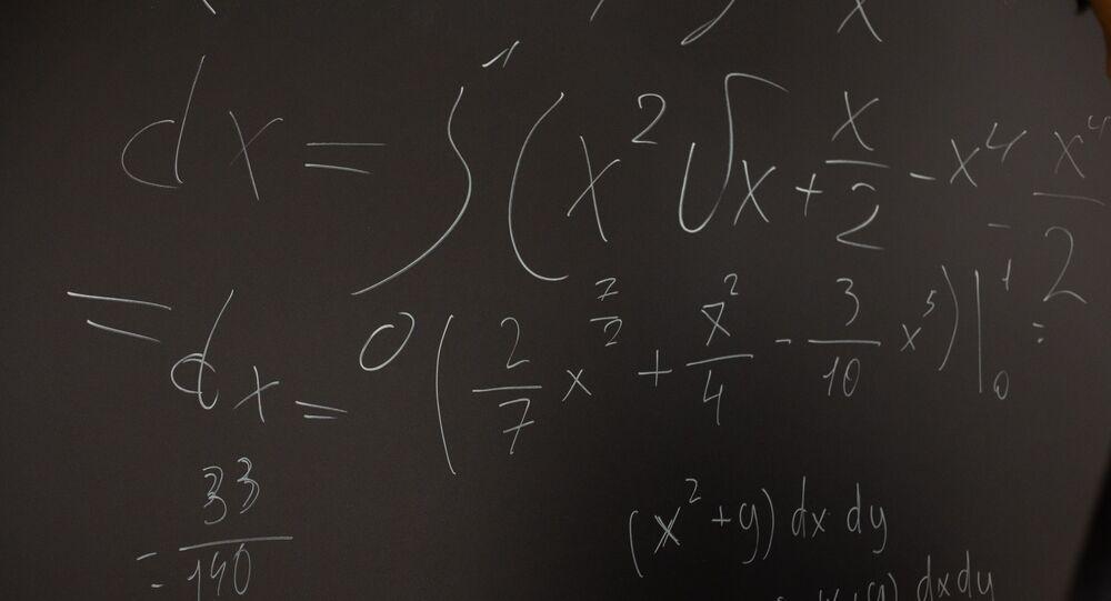 Équations sur un tableau