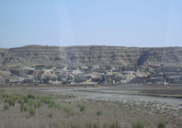 La vallée de l'Euphrate de Raqqa à Deir ez-Zor (archive photo)