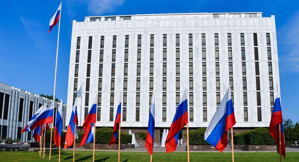 L'ambassade de Russie aux États-Unis