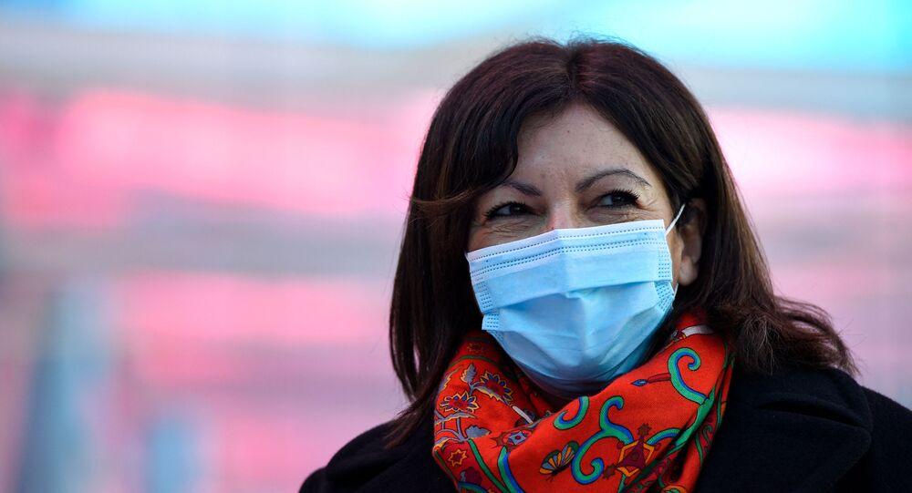 Anne Hidalgo à Nancy, le 19 février