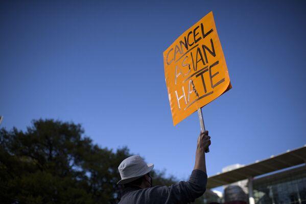 Stop Asian Hate: les manifestations des communautés asiatiques aux USA   - Sputnik France