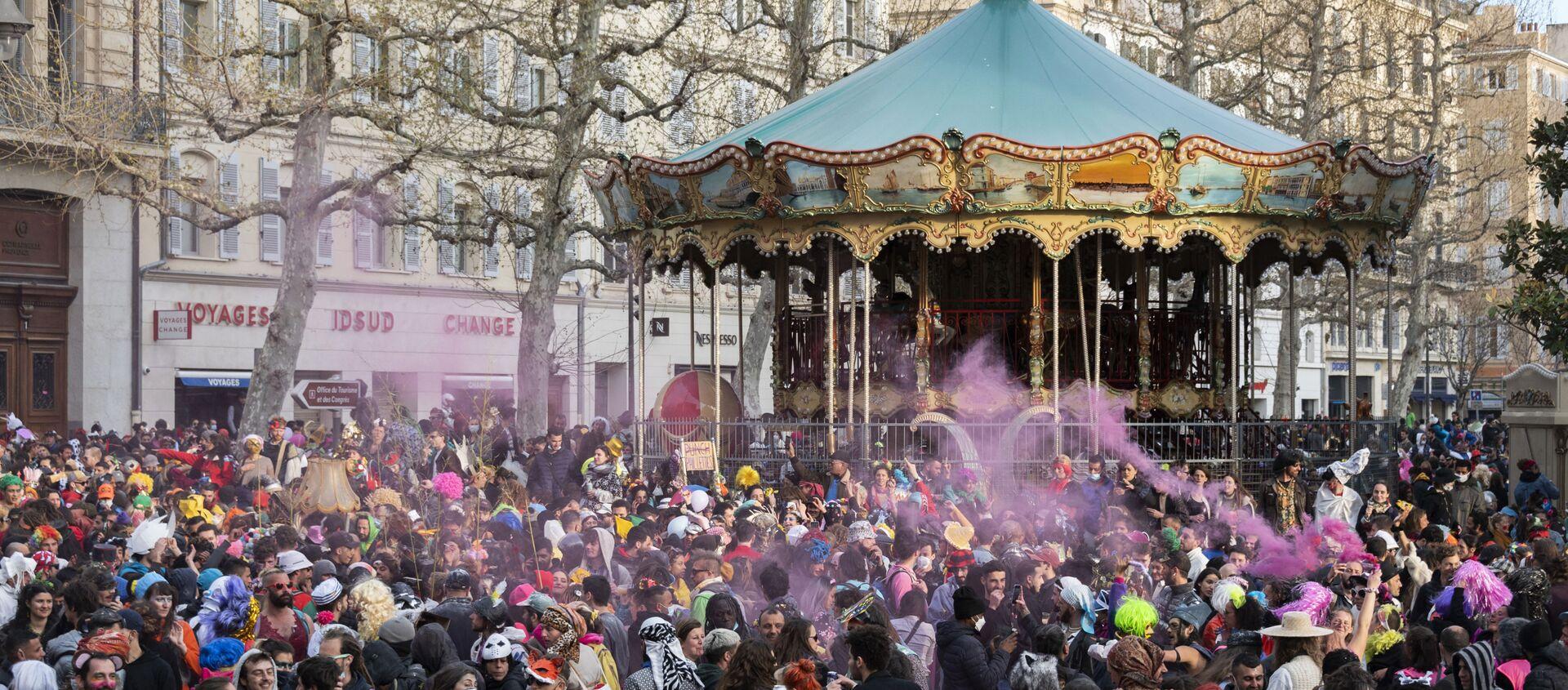 Le carnaval à Marseille  - Sputnik France, 1920, 23.03.2021