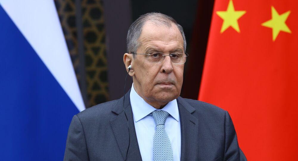 Visite de Sergueï Lavrov en Chine