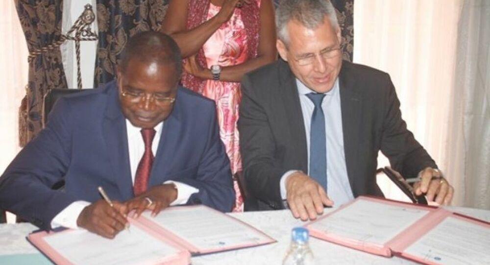 Signature du partenariat entre la région du Bélier en Côte d'Ivoire et la région Auvergne-Rhône-Alpes en France