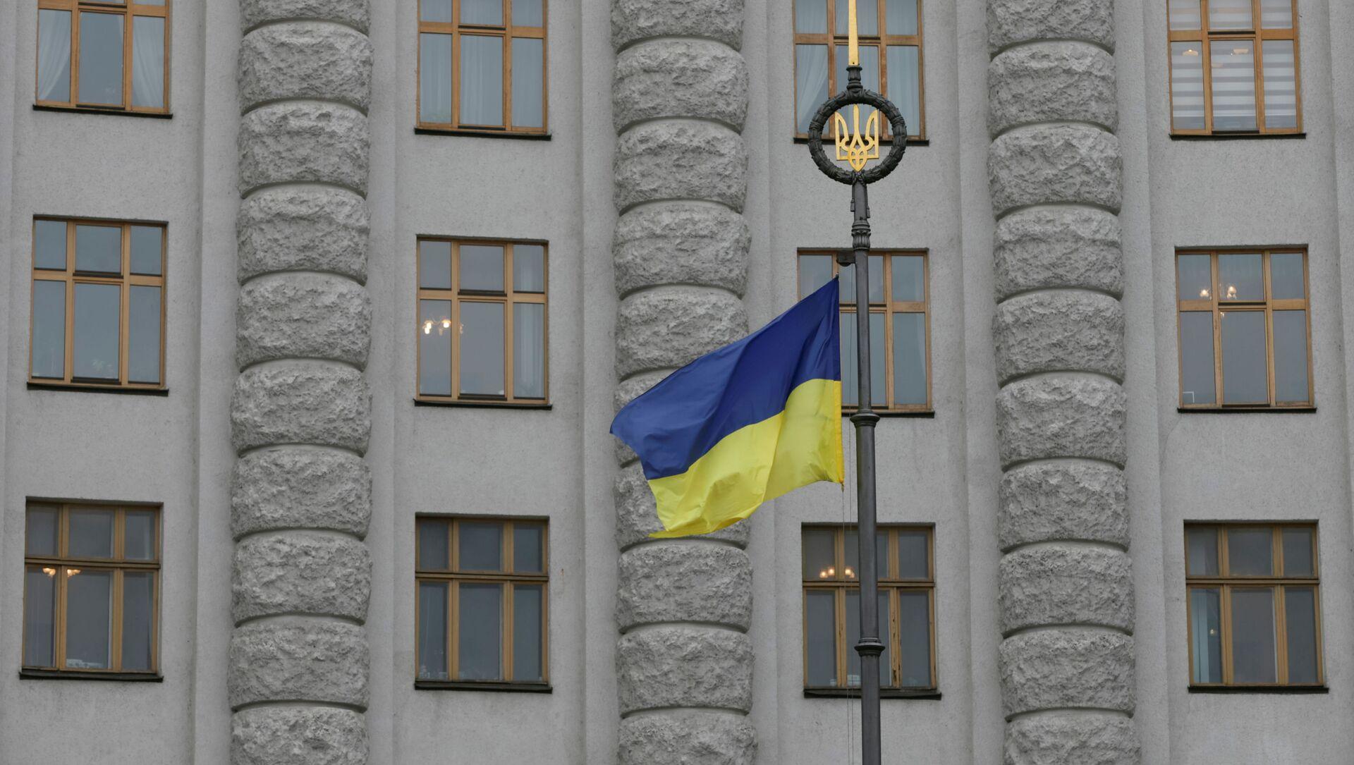 Le drapeau ukrainien (photo d'archives) - Sputnik France, 1920, 10.09.2021
