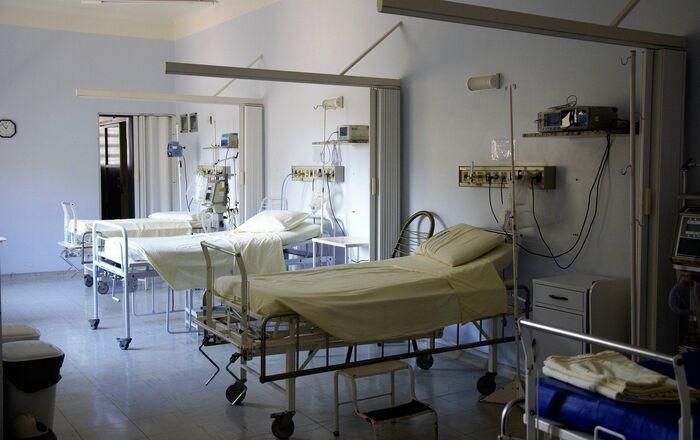 Lit d'hôpital (image d'illustration)