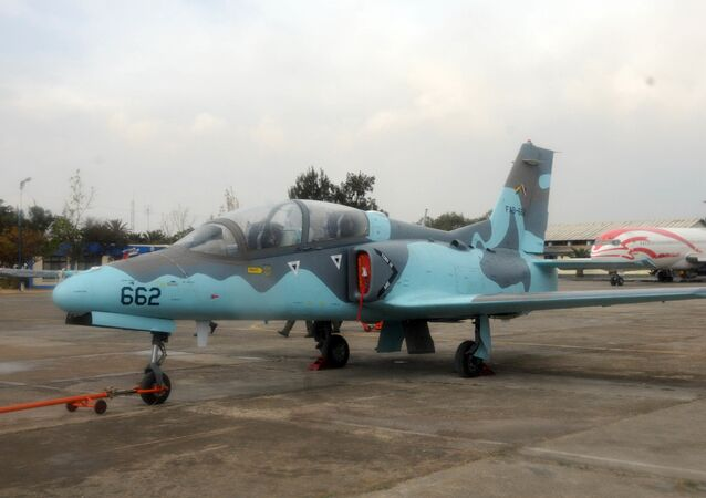 Un chasseur K8 Karakorum de la Force aérienne bolivienne (archive photo)