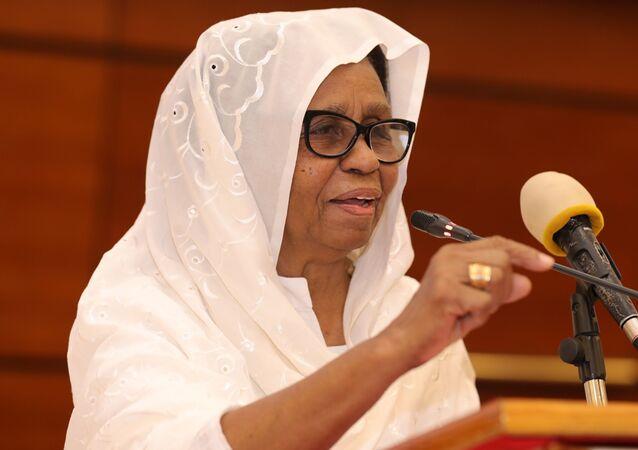 Aisha Musa El-said, membre du Conseil de souveraineté du Soudan