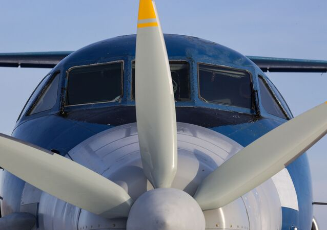 Un avion russe Iak-40 doté d'un moteur électrique supraconducteur (archive photo)