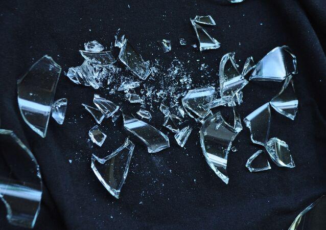Miettes de verre