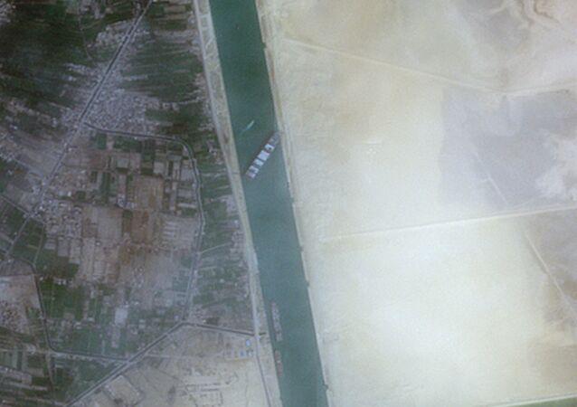 La situation dans le canal de Suez