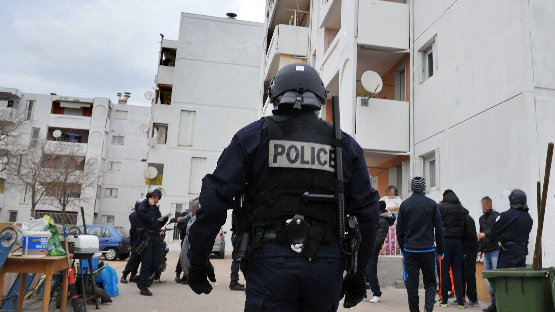 Des policiers français - Sputnik France, 1920, 27.07.2021