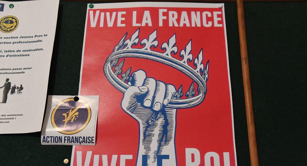 Logo de l'Action Françase