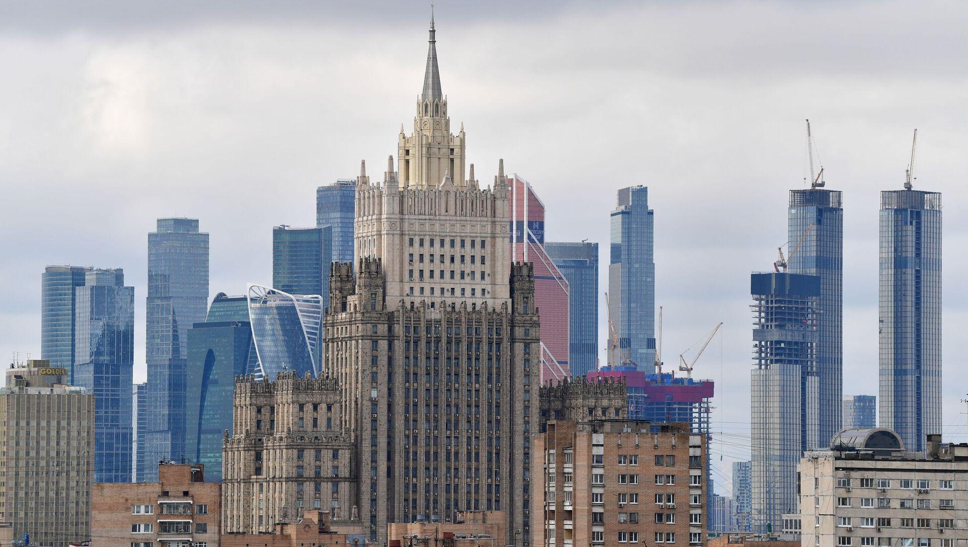Le siège du ministère russe des Affaires étrangères - Sputnik France, 1920, 03.08.2021