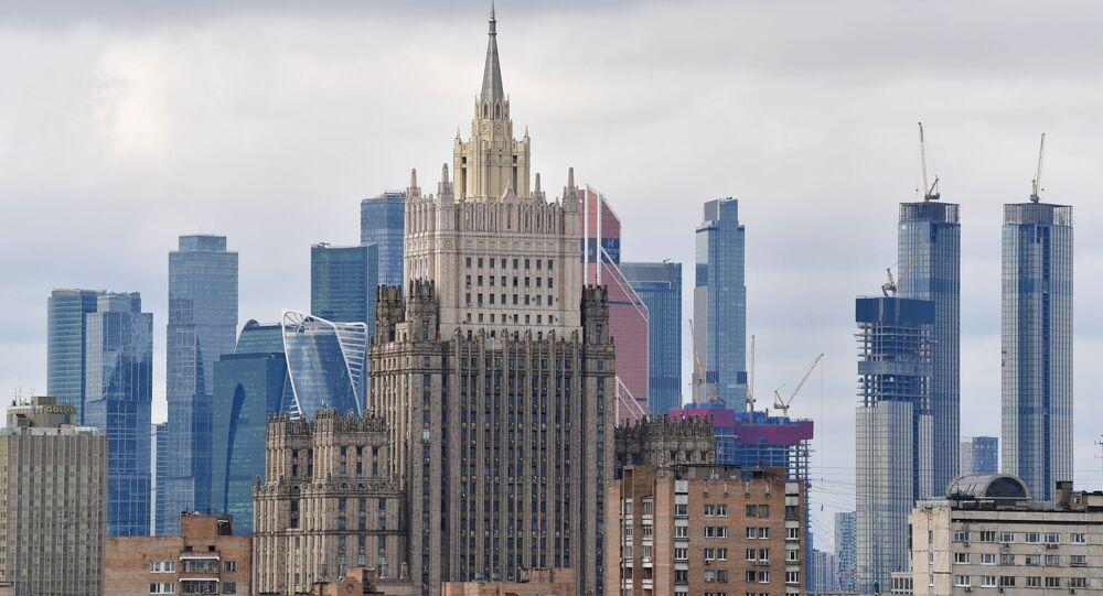 Le siège du ministère russe des Affaires étrangères (archive photo)