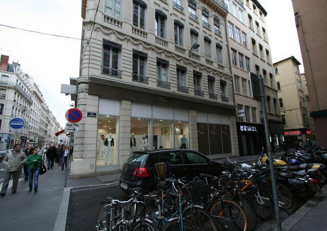 Rue Thomassin, à Lyon