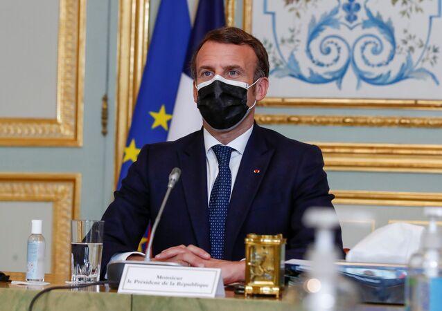 Le Président de la République française, Emmanuel Macron