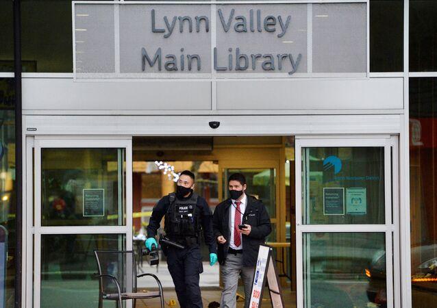 la bibliothèque municipale de Lynn Valley à Vancouver