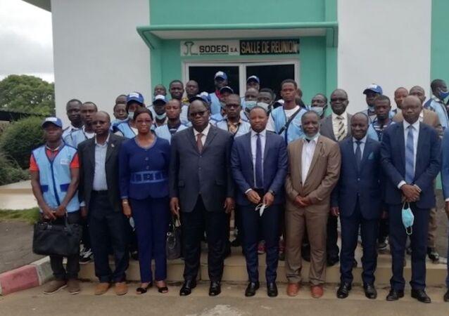 La brigade des enquêteurs du ministère de l'Hydraulique ivoirien